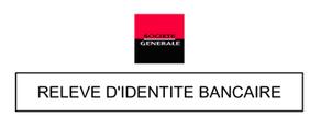 RIB Société générale